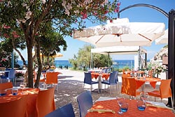 The restaurant: Camping Acquaviva - Island of Elba